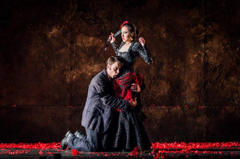 Debut som Moralès på GöteborgsOperan
